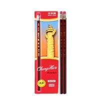 中华 Chung Hwa 红黑色抽条笔杆HB铅笔 6151  12支/盒 (大包装)