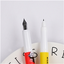 晨光 M&G 可换墨囊钢笔老师老师 HAFP0970 (黑)