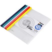 晨光 M&G 抽杆式报告夹 ADM94521 A4 15mm (红色、蓝色、黄色、绿色、白色) 10个/包 (颜色随机)
