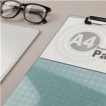 晨光 M&G 竖式透明书写板夹 ADM94512 A4 (蓝色)