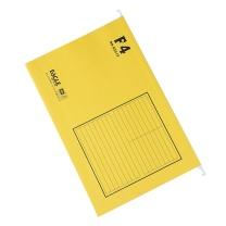 益而高 Eagle 挂快劳文件夹 9351F F4 (黄色) 40片/盒