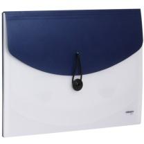 金得利 KINARY 金属色风琴包 F411 A4 4格 (金色、银色、蓝色、绿色、红色) (颜色随机)