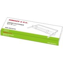 金得利 KINARY 耐用塑料装订夹 OS1079 80mm (彩色) 50套/盒