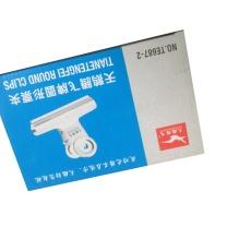 """天鹅 铁夹(中)6个/板 No.TE887-2 二号 2'1/2"""""""