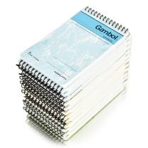 渡边 Gambol 螺旋装订笔记本 SA7506 A7 (混色) 50页/本 24本/封 (颜色随机)