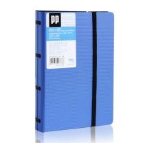 得力 deli 发泡PP名片册 5778 A6 180名 (黑色、蓝色) (颜色随机)