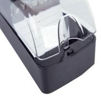 益而高 Eagle 透明名片盒 808L 650名 (黑色) 6个/盒
