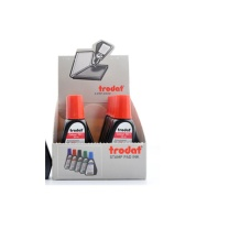 卓达 trodat 水性印油 7011 28ml (红色) (回墨印专用)
