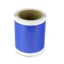 普贴 不干胶标签纸 PT-S114C-2 110mm*10m (蓝色) 彩贴机标签机