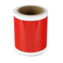 普贴 不干胶标签纸 PT-S113C 110mm*10m (红色) 彩贴机标签机