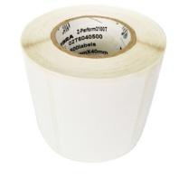 斑马 ZEBRA 铜版纸标签 60*40mm*1000pcs  (10卷起订)