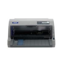 爱普生 EPSON 82列平推票据针式打印机 LQ-82KF (24针 最大打印厚度:0.53mm)(标配不带数据线)