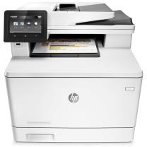 惠普 HP A4彩色激光多功能一体机 LaserJet M477fnw (打印、复印、扫描、传真)