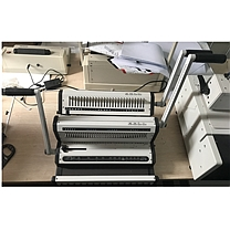 力晴 梳式+铁圈装订机 HX-P7001  3:1+2:1打孔加装订
