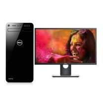 戴尔 DELL 一机双屏工作站 XPS8930 (黑色) i7-8700 16G 2TB 256G SSD GTX1060 23.8英寸*2