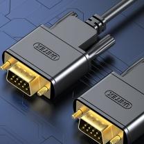 优越者 扫描仪数据线 Y-C702ABK rs232串口线 公对公延长线 DB9针串口转接线1.5米 扫描仪税控机编程机com口连接线