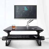 乐歌 电脑支架 M1M 可移动折叠式 黑