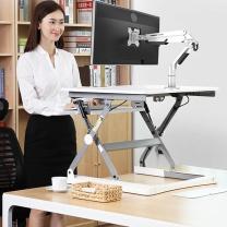 乐歌 电脑支架 A8D 17–38英寸  承重范围:3–9公斤 穿孔或夹持