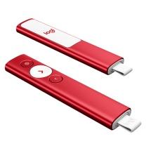 罗技 Logitech 激光笔 Spotlight 无线演示器 投影笔 翻页笔 非激光笔 演示笔 演讲神器 红色