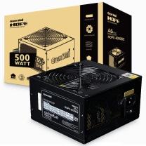 长城 GREAT WALL 电脑电源 HOPE-6000DS 额定500W 电源 (70cm超长背板走线/三年质保/台系电容/12cm静音风扇/宽幅)
