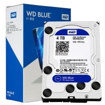 西部数据 WD 台式机硬盘 WD40EZRZ 4TB SATA6Gb/s 64MB 蓝盘