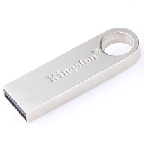 金士顿 Kingston U盘 DataTraveler SE9 16GB (银色) 金属