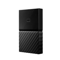 西部数据 WD 移动硬盘 WDBYNN0010BBK 1TB (黑色) New My Passport 2.5英寸