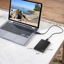 希捷 Seagate 移动硬盘 STDR1000300 1TB (黑色) Backup Plus睿品 2.5英寸 USB3.0