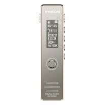 现代 HYUNDAI 录音笔 HY-K607 专业微型 高清降噪 学习/会议/采访适用 播放器 16G金色