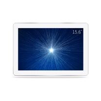 数码相框 乐士利雅15.6英寸高分辨率1920*1080全视角高清数码相框 电子相册 广告机 包邮 15.6英寸白色钢化玻璃镜面送16G优盘+壁挂板