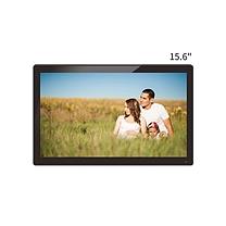 数码相框 易乐看 ELC1501 15.6英寸宽屏16:9数码相框高清广告机支持1080P高清视频 黑色钢化玻璃