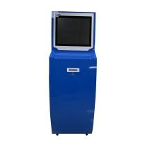 世无忧 交换机 (蓝色) 立式 税务自助数据安全交换系统