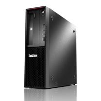 联想 lenovo 台式电脑套机 P320-30BGA000CW 19.5英寸 i5-7500 8G 1T 集显 无光驱 Linux操作系统 三年上门 (黑色)