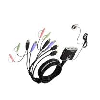 ATEN 宏正2口USB/HD 音视频切换器 2进1出HDMI多电脑KVM切换器CS692  (DC)