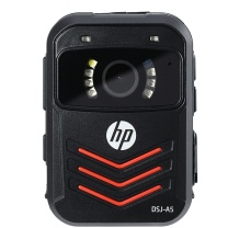 惠普 HP 执法记录仪1296P高清红外夜视现场记录仪 DSJ-A5 配128G