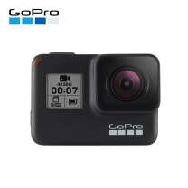GoPro 运动相机水下潜水 4K户外直播防水摄像机 官方标配 hero7 三向自拍杆+双充电池+64G卡 hero7 black