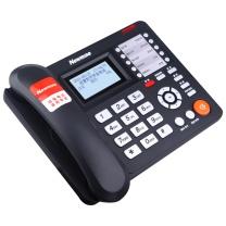 纽曼 Newsmy 纽曼录音电话机 HL2008TSD-938(R) 938录音话机 2200小时 (黑色) 行业专供录音电话机2200小时自动答录智能拨号名片弹屏