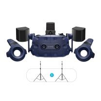 HTC VIVE 专业版头显 智能VR眼镜 PCVR 3D头盔 Pro Full Kit2.0