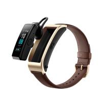 华为 HUAWEI (蓝牙耳机+智能手环+心率监测+彩屏+触控+压力监测+Android+IOS通用+运动手环) 商务版 B5 商务版 (摩卡棕)