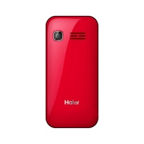 海尔 Haier M360 富贵红 直板按键 移动/联通 老人手机 双卡双待 老年手机