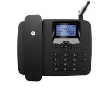 摩托罗拉 MOTOROLA 无线插卡座机电话机支持移动手机卡SIM卡大音量家用办公无绳插卡移动固话 FW200L