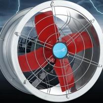 光途卫 14寸强力圆筒抽风机大功率通风机工业排风换气扇厨房管道抽油烟 FB-35