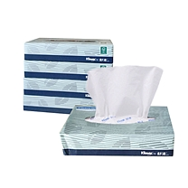 金佰利 Kimberly-Clark 舒洁商用型盒装面巾纸双层 0228 80抽/盒 72盒/箱