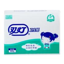 双灯 平板纸卫生纸 擦手纸巾厕纸草纸800g 800g