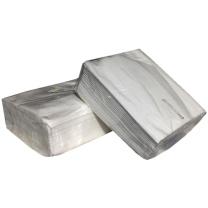 科讯 方形纸抽 餐巾纸 185*95 (白色) 2层*100抽/包*200包/箱 软包 透明袋 餐厅常用
