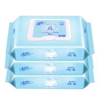 清风 Breeze 湿巾纸 BWB80C EDI纯水 无纺布 80片/包 12包/箱 BWB80C 80片/包 12包/箱