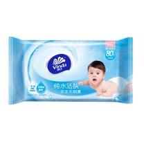 维达 vinda 婴儿护肤柔湿巾 VW2002 80片/包 12包/箱