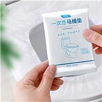 国产 马桶坐垫 (白色) 一次性、单独包装