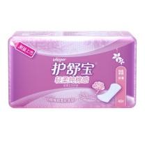 护舒宝 whisper 棉柔瞬吸透气卫生护垫 淡香 40片/包