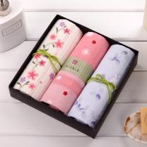 内野 UCHINO 和风系列面巾3条装礼盒 Y15321/5  (或Y15339等)